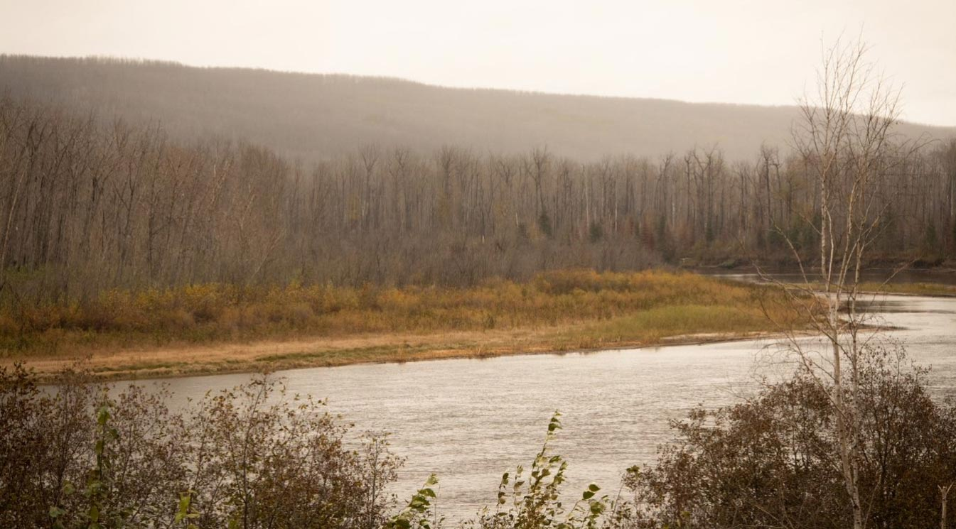 the Clearwater River at Draper