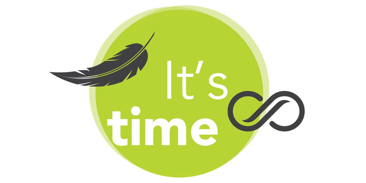 it's time logo