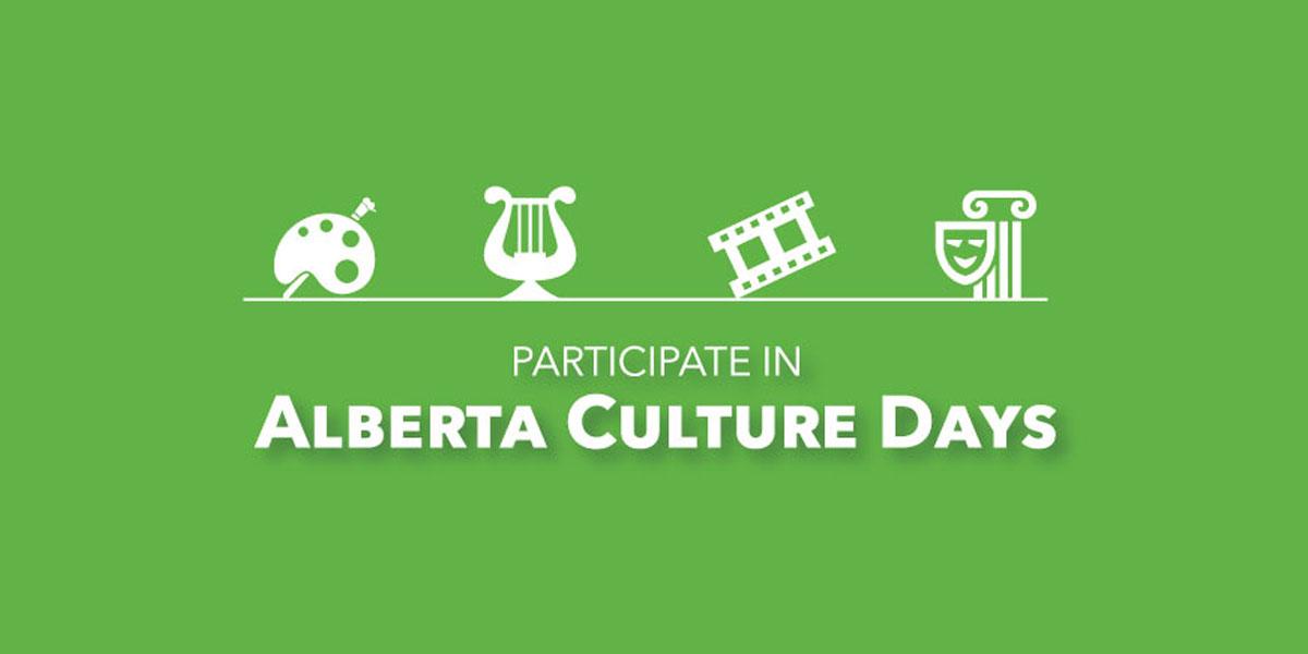 Alberta Culture Days 2021
