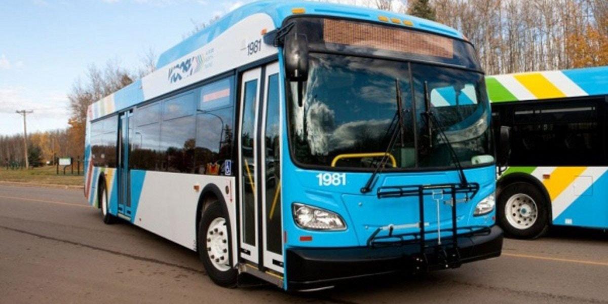 Image of a municipal bus
