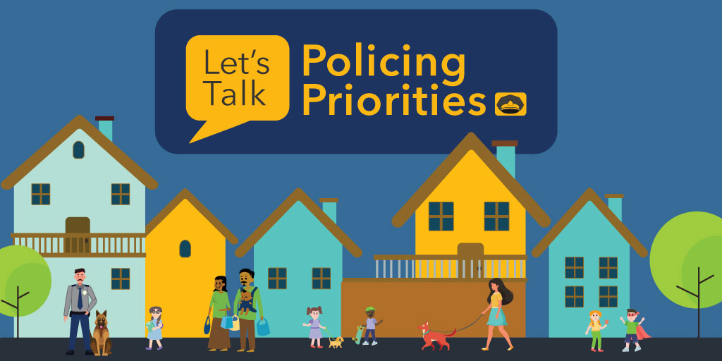 Policing priorities graphic