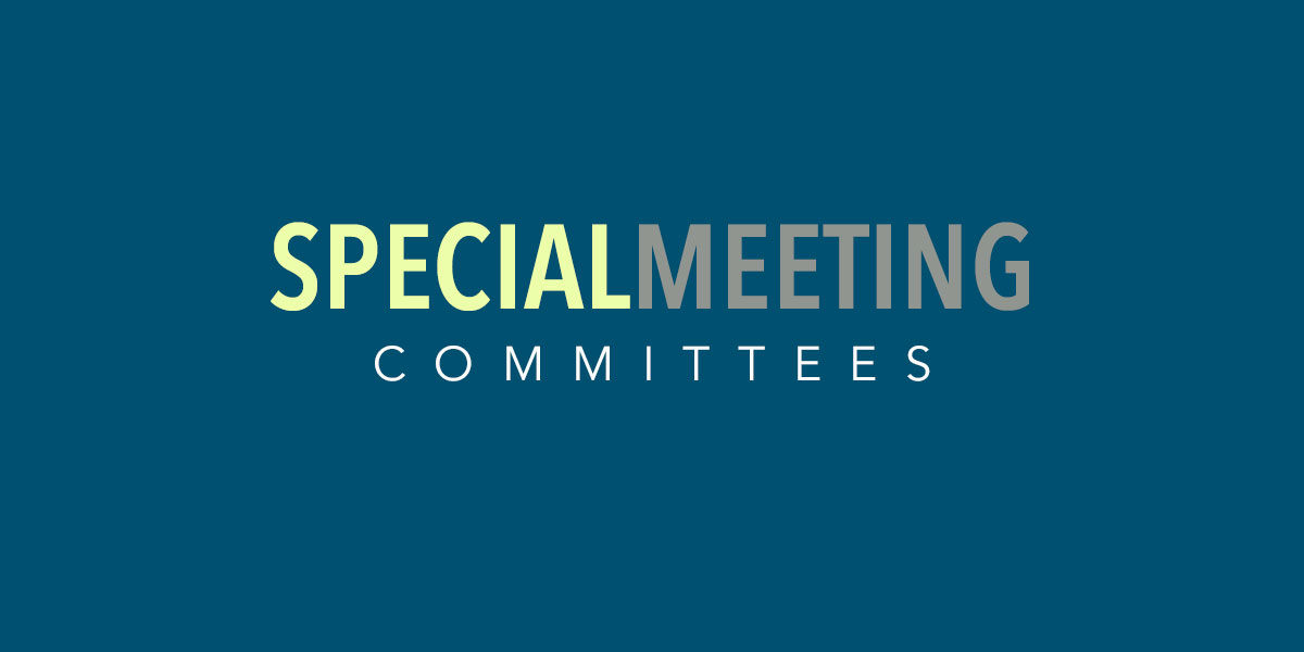 Special Meeting image